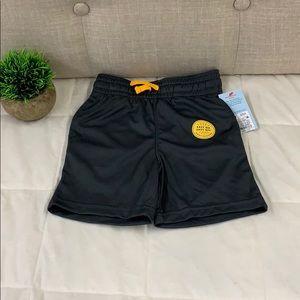 Cat & Jack Flexible Drawstrings Black Shorts